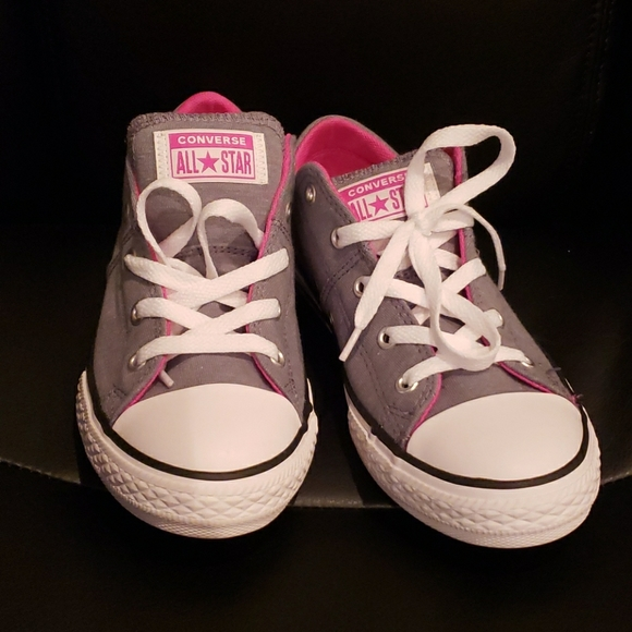 Converse Shoes | Grey Converse Womens 6